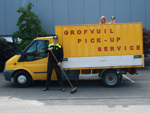 Grofvuil Pick-up Service - Webdesign